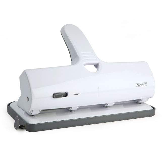 ALU 40 Heavy Duty 4-Hole Punch (White)